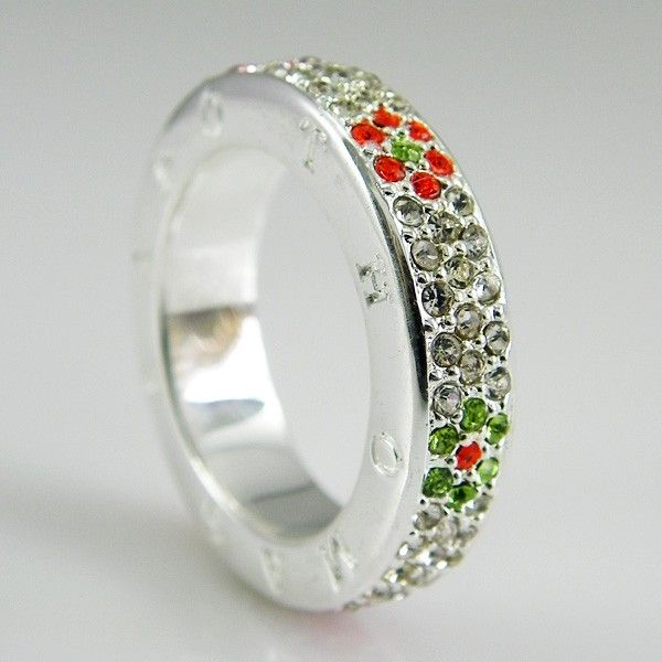 Thomas Sabo In Colorful Ring With Flower Cz01