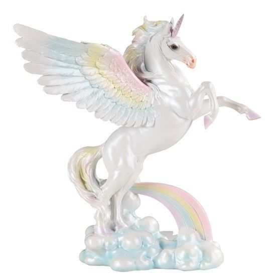 9 75 Quot Winged Unicorn Statue Fantasy Magic Figurine