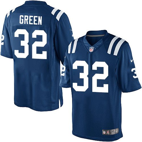 Youth Nike Indianapolis Colts  32 T.J. Green Limited Royal Blue Team Color  NFL Jersey 7f4205950