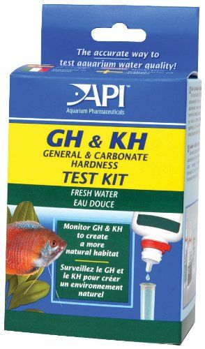 API GH & KH General & Carbonate Hardness Test Kit - Freshwater - ON SALE! http://www.saltwaterfish.com/product-api-gh-kh-general-carbonate-hardness-test-kit-freshwater