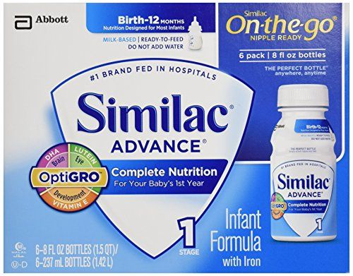 Similac Advance Early Shield Infant Formula With Iron Ready To Feed Bottles 48 Oz Want Additional Info Click On The Image Baby Formula Similac Baby Drinks