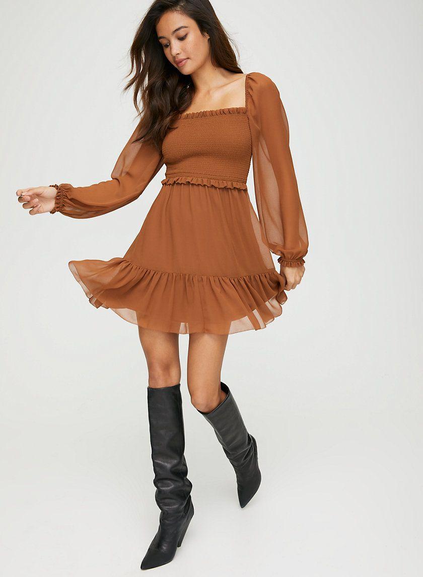 Tempest Dress Mini Dress With Sleeves Dresses Mini Dress [ 1147 x 840 Pixel ]