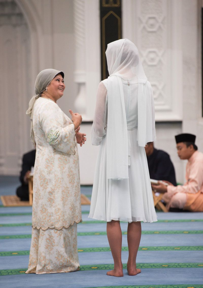 Kate - Beulah London Pale Grey Dress - Assyakirin Mosque ...