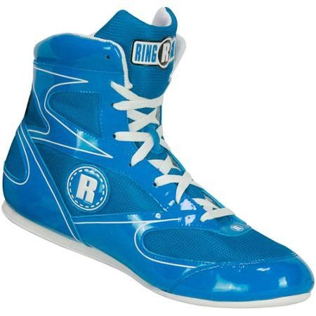 Blue Ringside Power Boxing Shoes