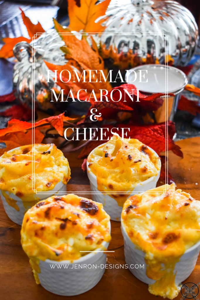 Homemade Macaroni  Cheese  JENRON DESIGNS