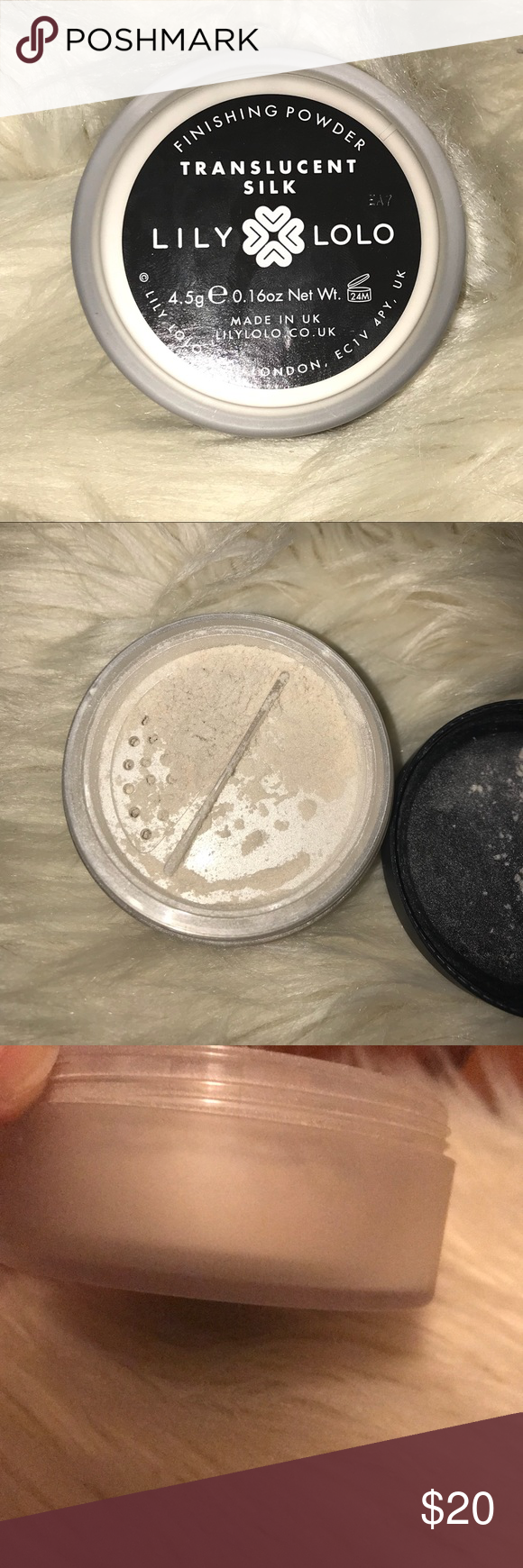 Lily Lolo Translucent silk powder Used a few times. 95% full. Gives a gorgeous, natural sheen to the face. Lily Lolo Makeup Face Powder #lilylolo Lily Lolo Translucent silk powder Used a few times. 95% full. Gives a gorgeous, natural sheen to the face. Lily Lolo Makeup Face Powder #lilylolo Lily Lolo Translucent silk powder Used a few times. 95% full. Gives a gorgeous, natural sheen to the face. Lily Lolo Makeup Face Powder #lilylolo Lily Lolo Translucent silk powder Used a few times. 95% full. #lilylolo