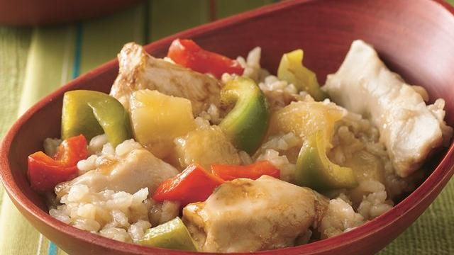 Here's a spectacular spin on sweet-and-sour chicken. Aloha!