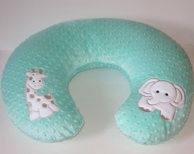 minky boppy cover nursing pillow