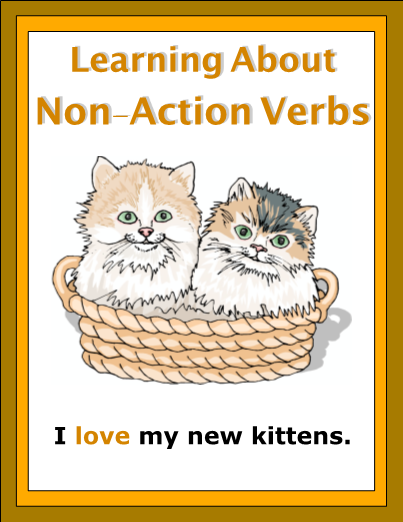 Action Words List Enchanting Activities Include Recognizing Nonaction Verbs In A List Of Words .