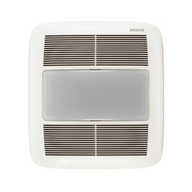 Master Bathroom Exhaust Fan master bath fan 160 at lowes broan 1.5-sones 140-cfm white