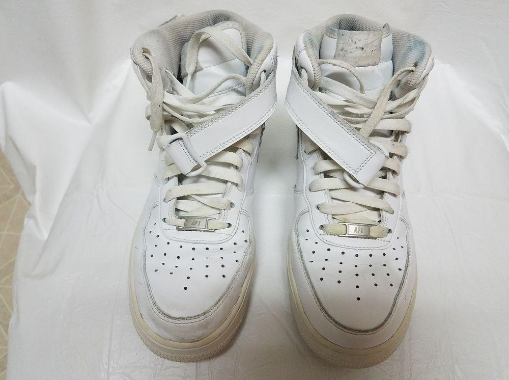 Men's Nike Air Force 1 Mid '07 White/White 315123 111 Size 9 Ships