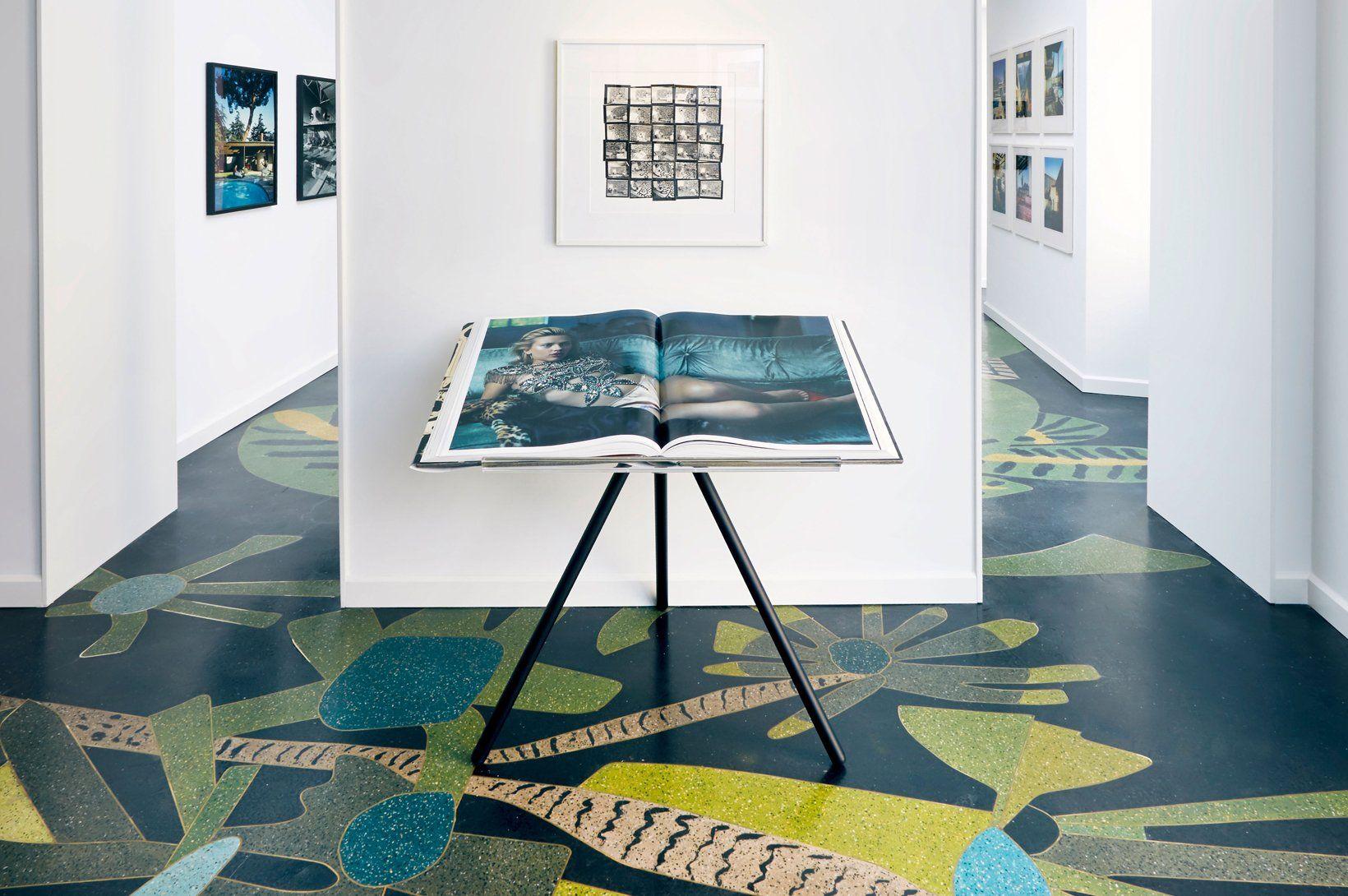 Showrooms Taschen Milan Beautiful Terrazzo Floors
