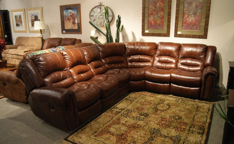 Texas Leather Motion @ Freed's Furniture $2,199 ...