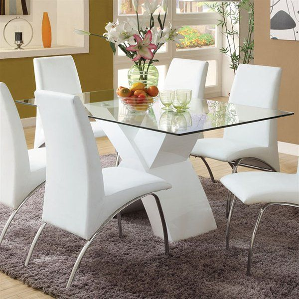 Furniture Of America CM8370 Wailoa Dining Table At ATG