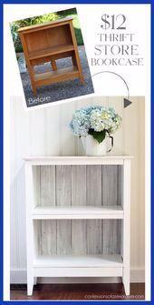 Photo of #Bookcase #Carson #Chic #Furniture #idea #refurbished