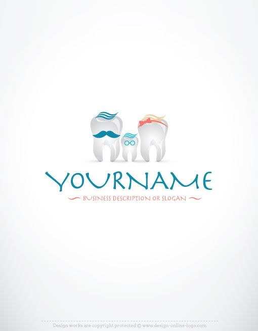 Exclusive logo design dental logo images free business card exclusive logo design dental logo images free business card build your own dentistry logo reheart Image collections