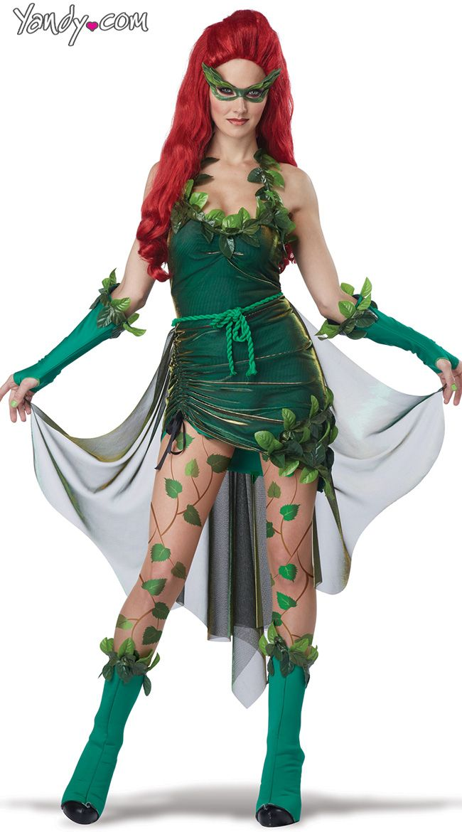Lethal Beauty Costume Womens Ivy Costume Ivy Superhero Costume Ivy Villain Costume  sc 1 st  Pinterest & Lethal Beauty Costume | Villain costumes Ivy costume and Costumes