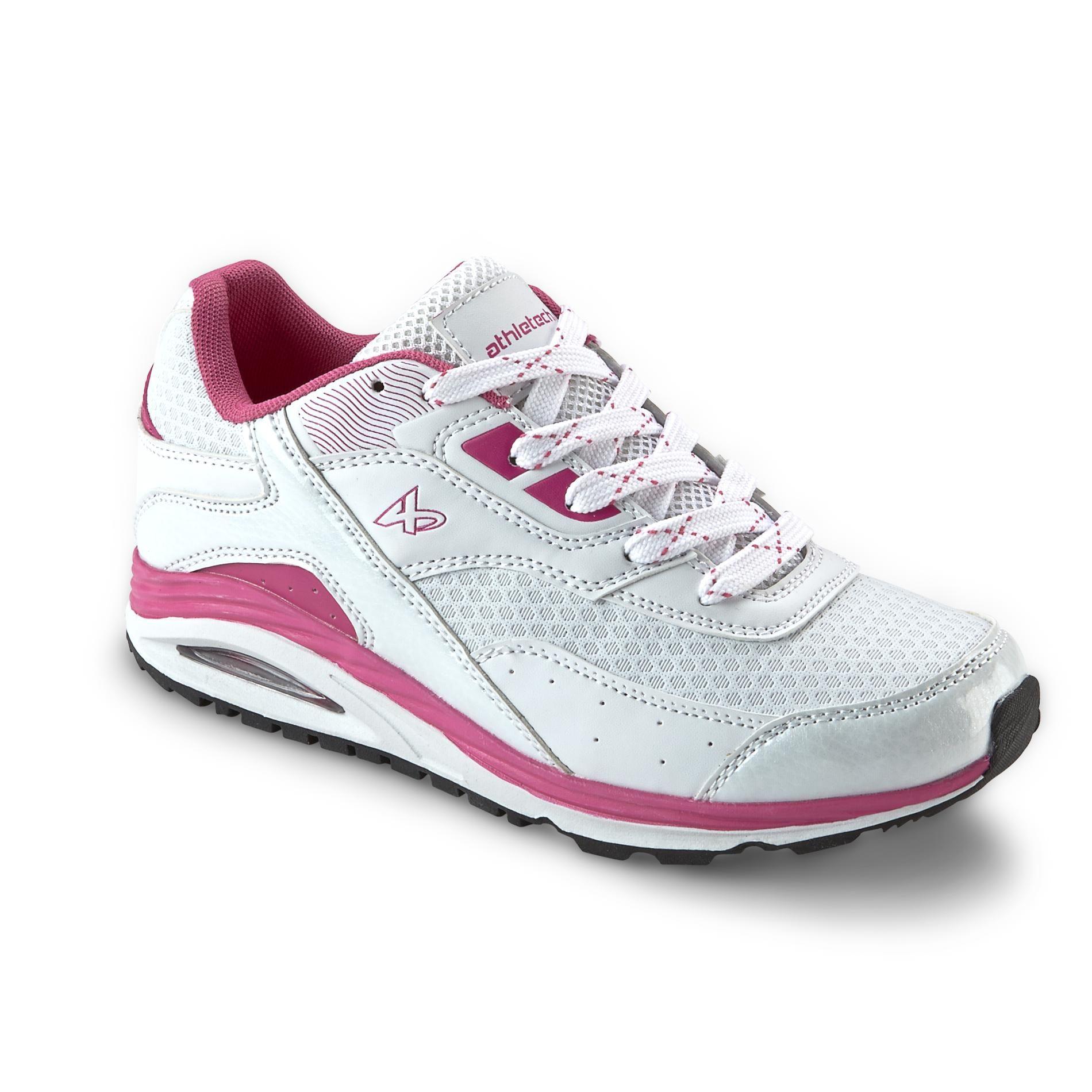 Bobby White/Pink Athletic Shoe