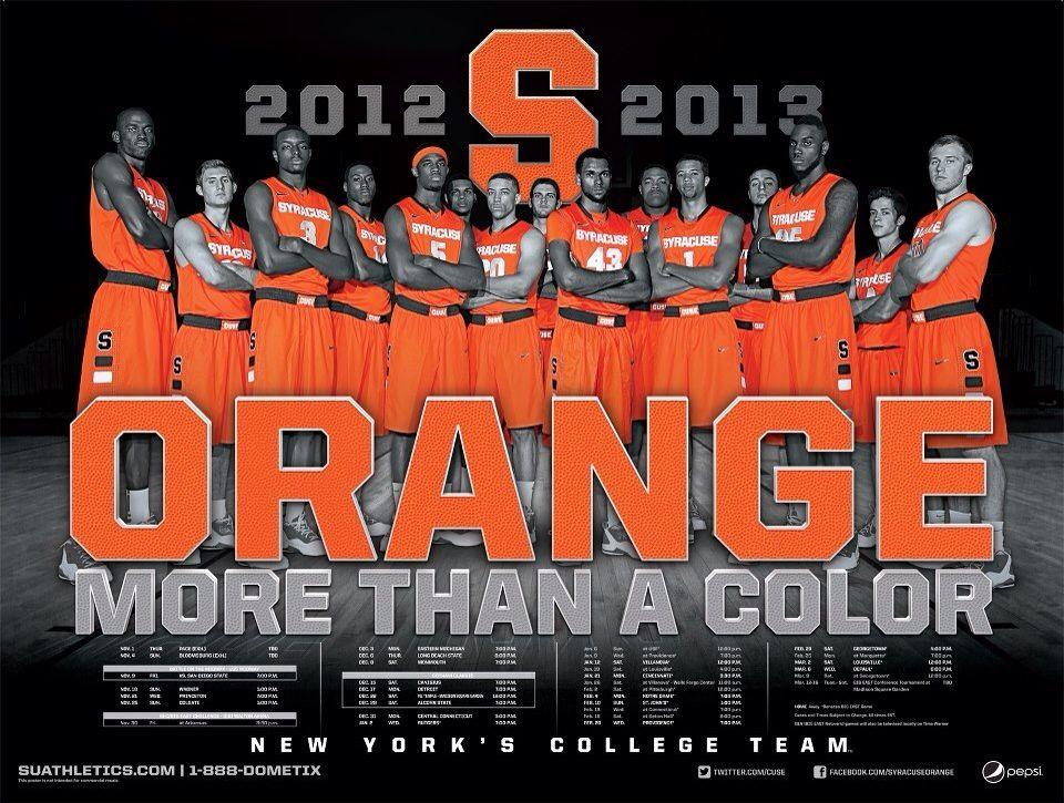 20122013 SU Basketball Team Syracuse, Basketball teams