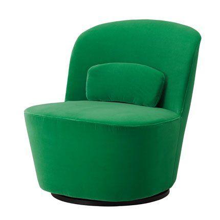 ikea stockholm collection armchair green fauteuil pivotant ikea et fauteuil