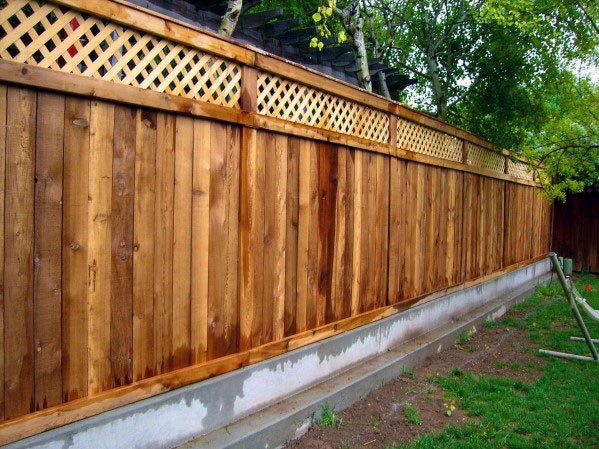 Top 60 Best Dog Fence Ideas Canine Barrier Designs Wood Fence