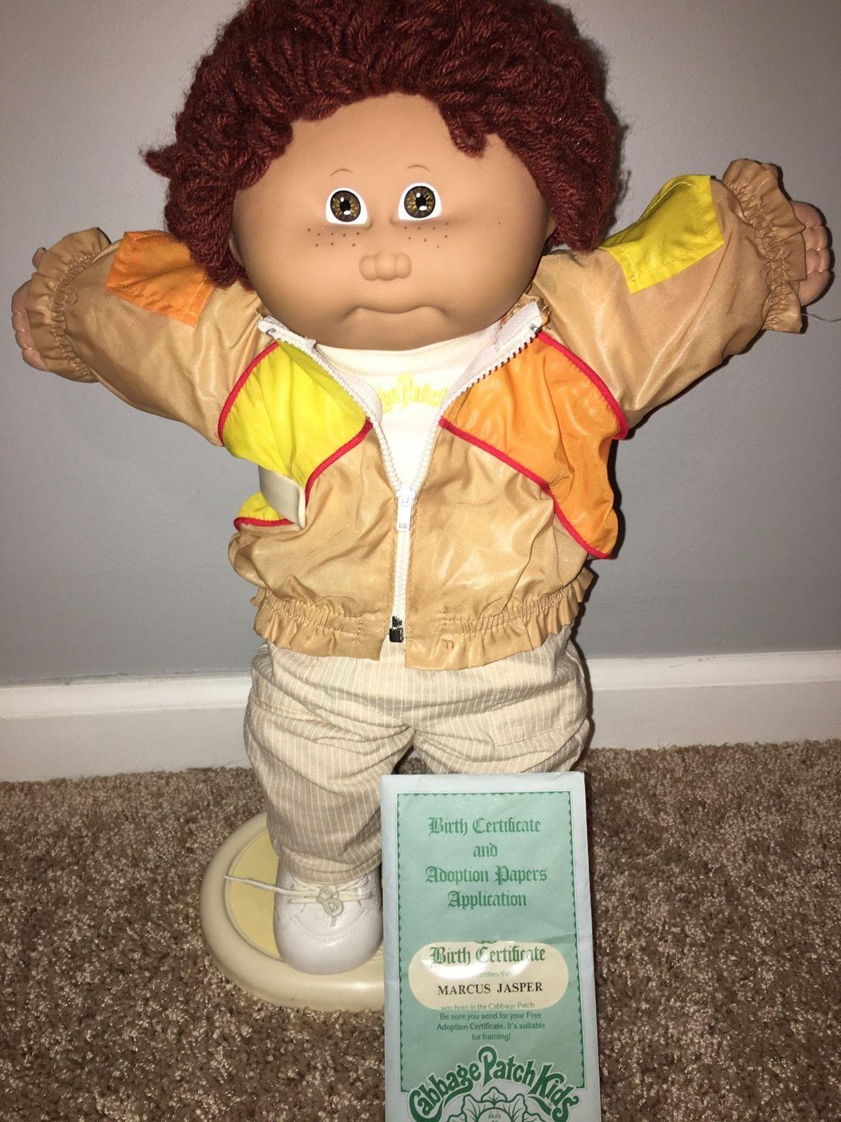 MARCUS JASPER Vintage 1980s Coleco Cabbage Patch Kids Doll Boy HM1 Freckles  | Cabbage patch kids dolls, Cabbage patch kids, Cabbage patch kids boy