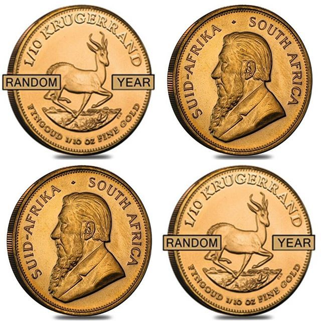 The 1 10 Oz South African Krugerrand Gold Coin Random Year Has Been Extremely Popular Amongst Investors Since Its Launch Gold Coins Coins Product Launch