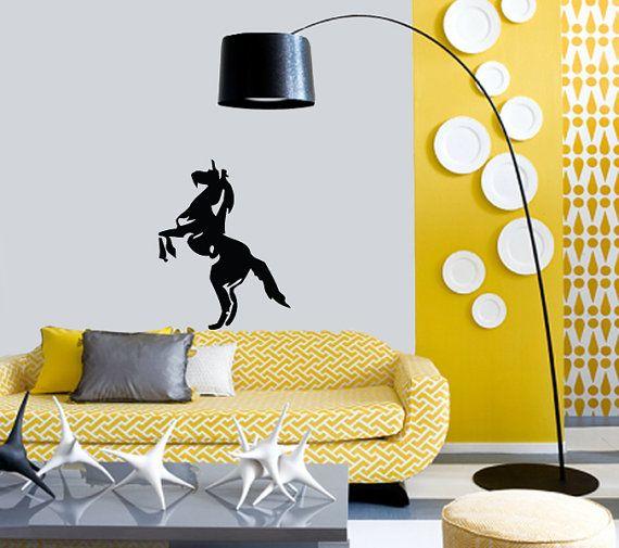 Wall Vinyl Sticker Decal horse animal Art Design by VinylDecals2U, $24.65