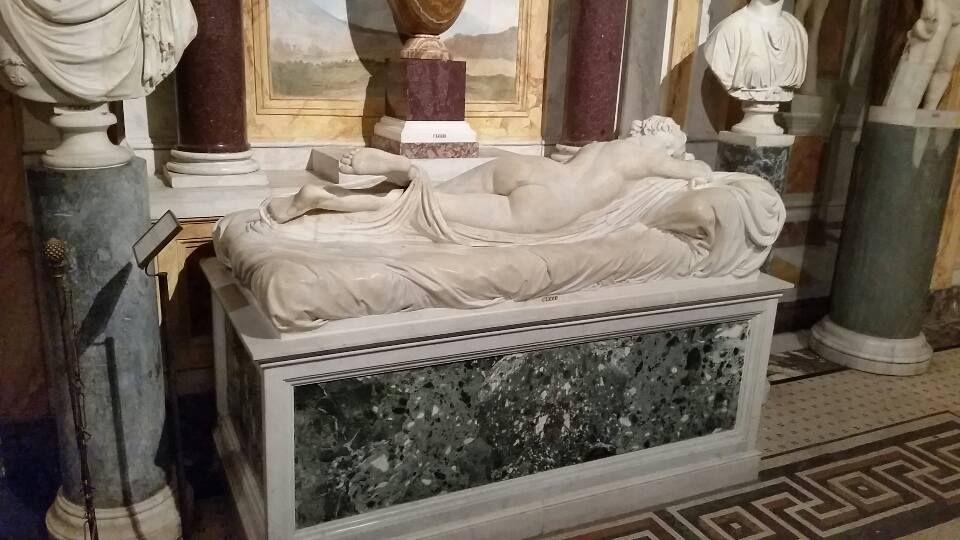 Palazzo Massimo, L'Ermafrodito Dormiente - The …