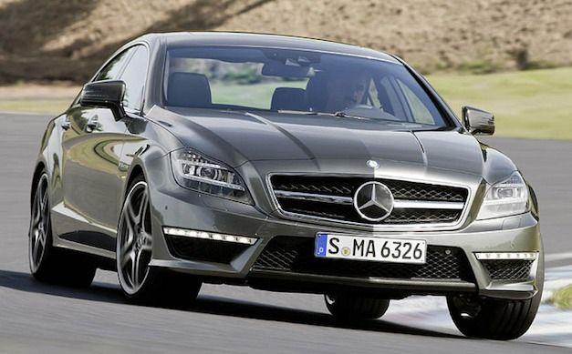 2012 Mercedes Benz CLS 63 AMG