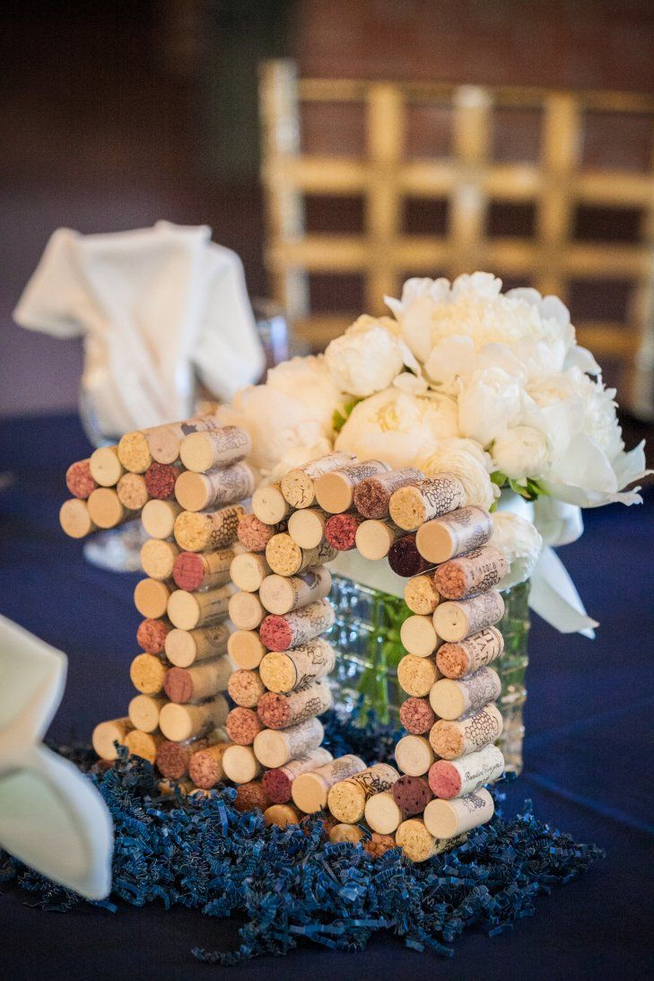 Wine Cork Table Numbers Sara Wight Photography https