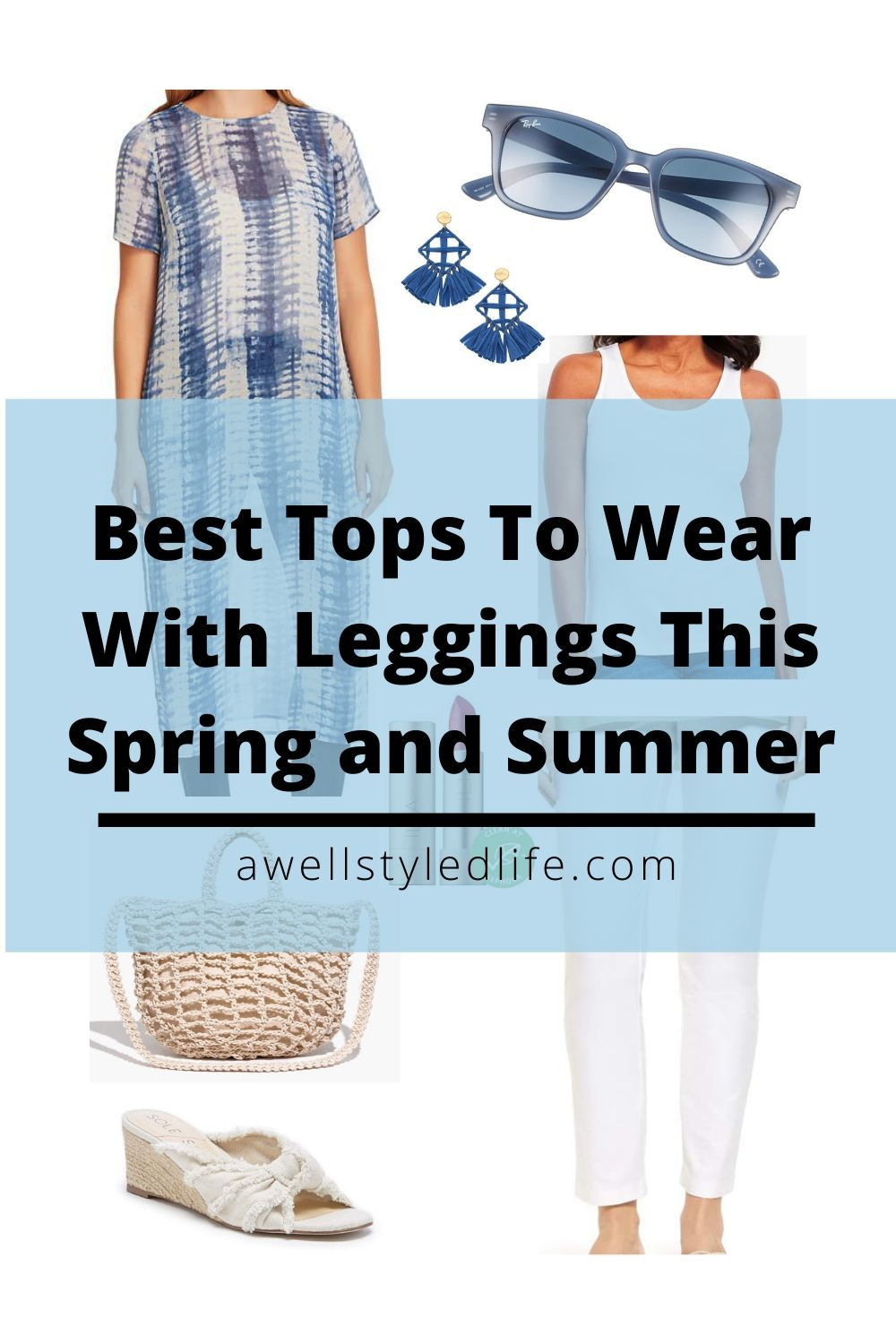 Tops To Wear With Leggings This Spring and Summer in 8  How to