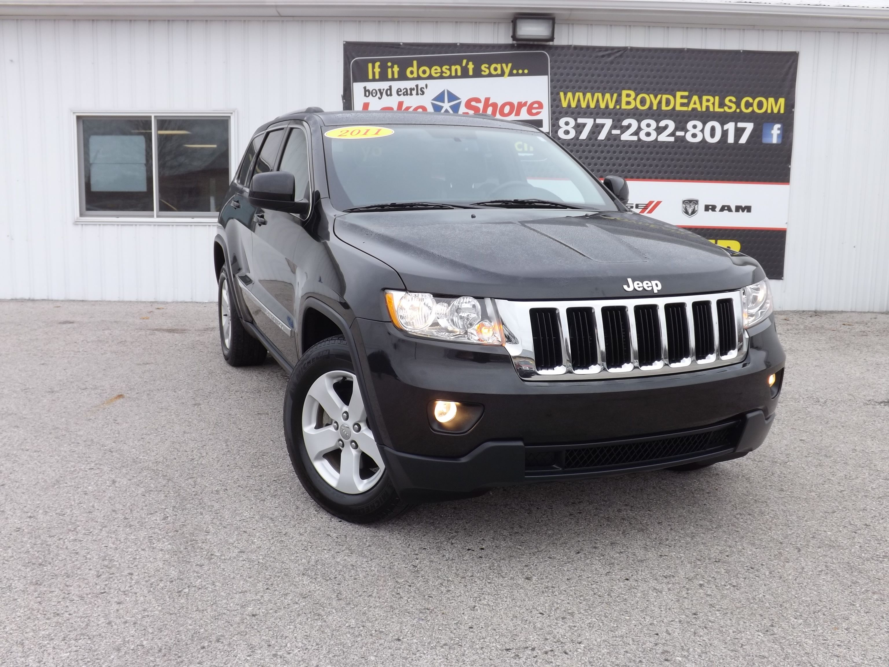 Used 2011 Jeep Grand Cherokee Laredo For Sale Montague Mi
