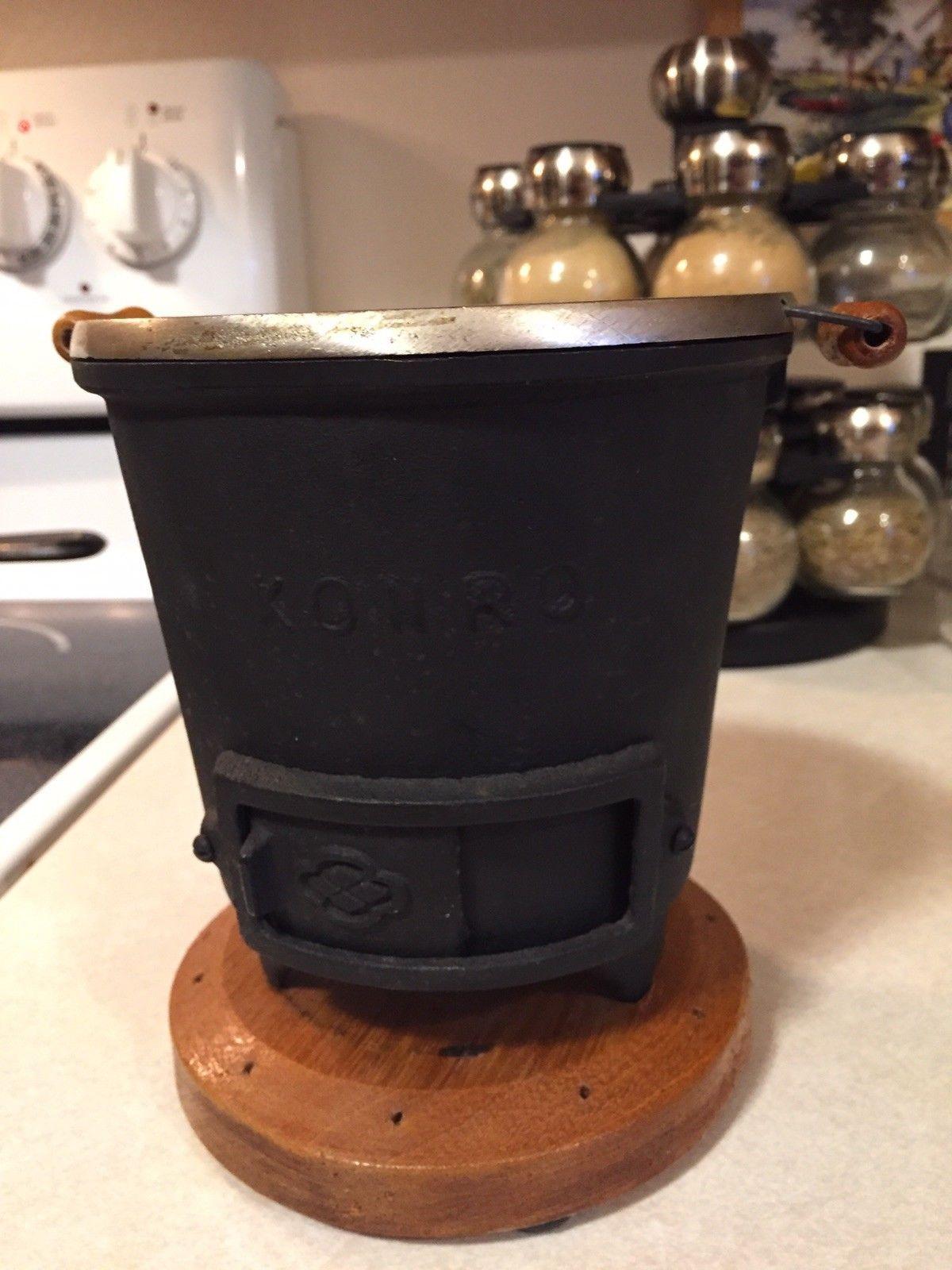 Japanese KONRO Mini Iron Portable Hibachi Barbeque BBQ GRILL