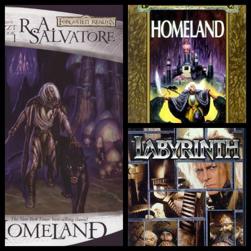 We will be reading Homeland by R. A. Salvatore and watching the Movie Labyrinth!   January 8 @ 5:30 p.m.