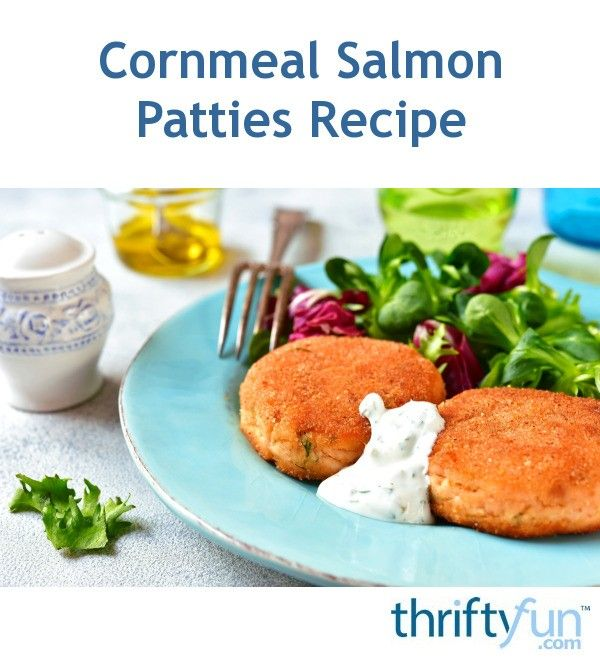 Photo of Cornmeal Salmon Patties Recipe
