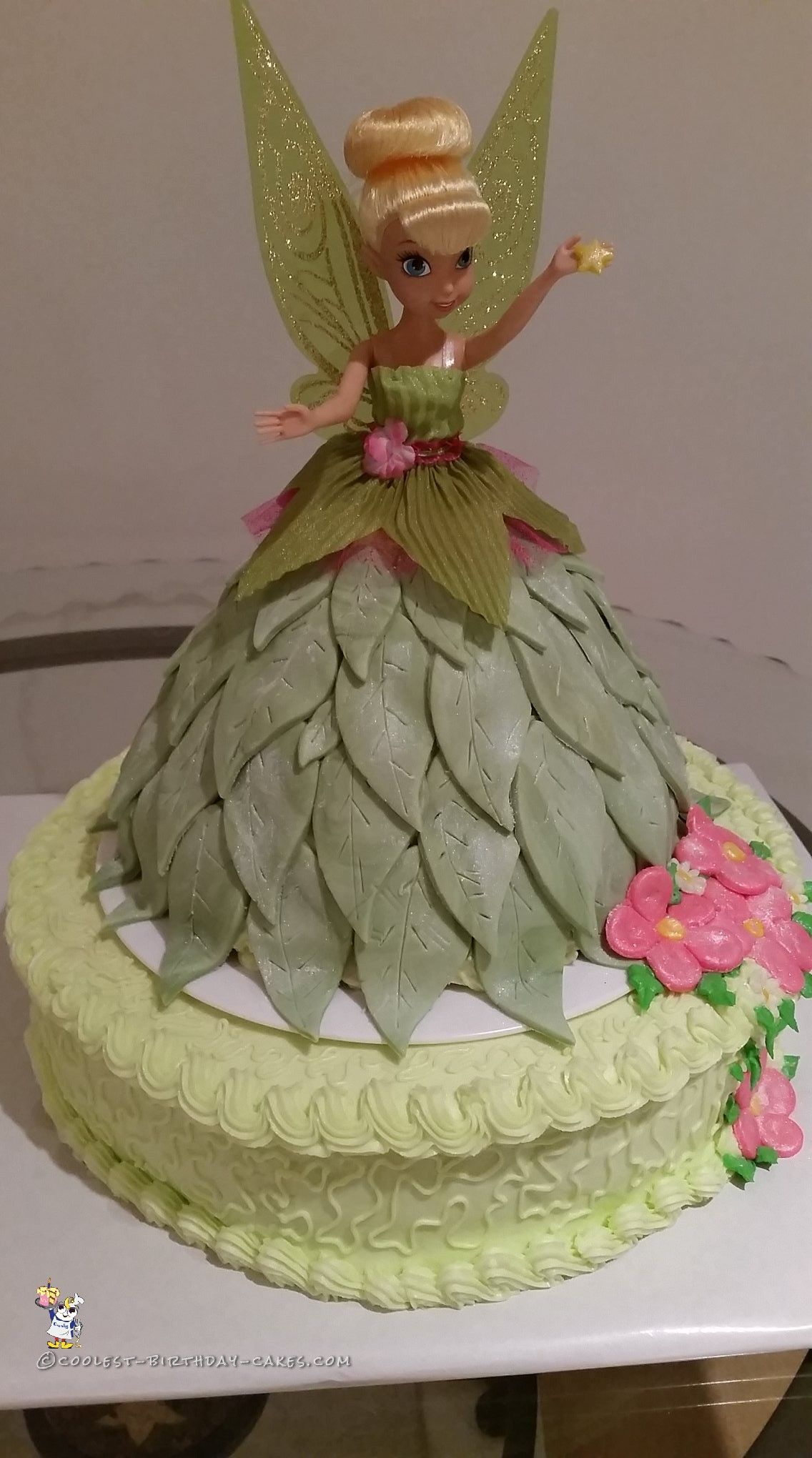 Magical Tinkerbell Doll Cake In