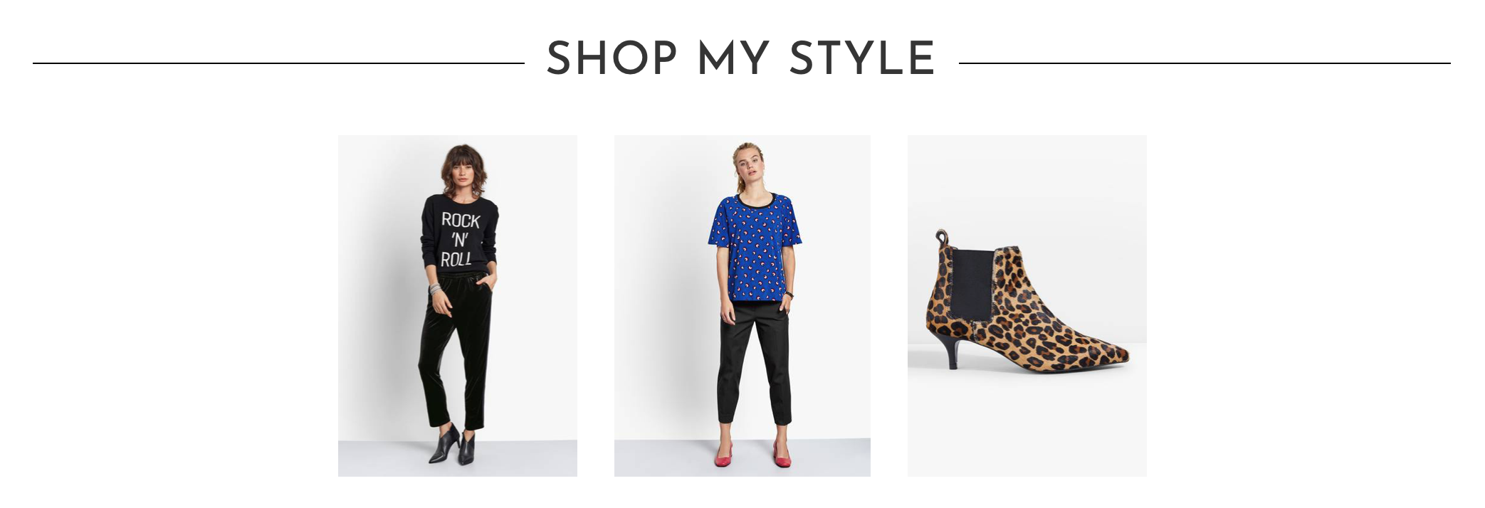 fc0bbe70d206 How to style & where to shop a slogan cashmere knit crew neck jumper,  cropped loose fit cigarette pants & leopard print kitten heel ankle boots  #ootd #wiw ...