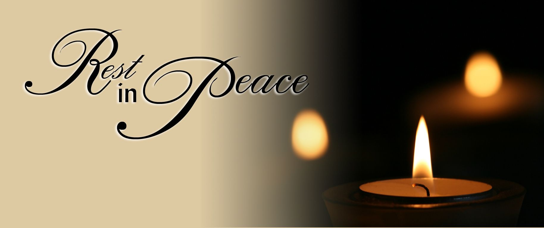Image result for rest in peace candle