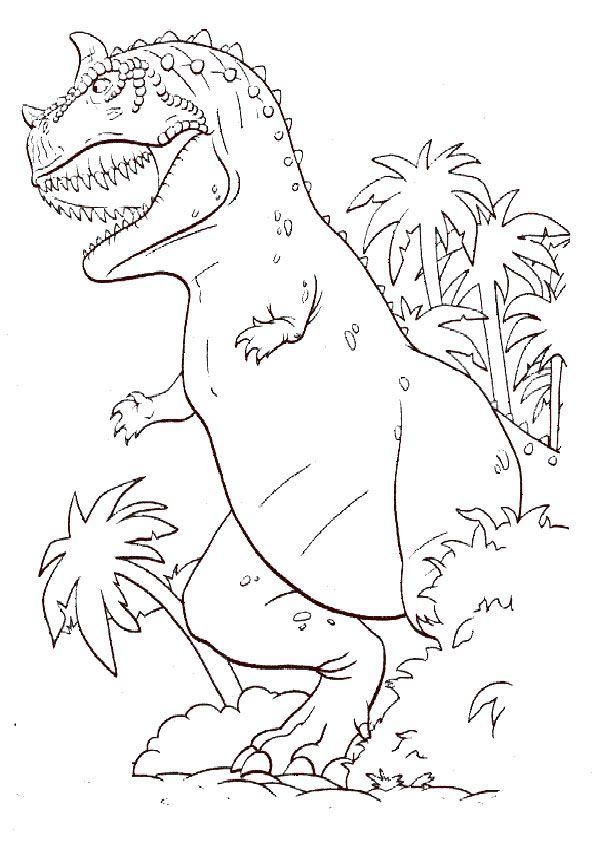 ausmalbilder dinosaurier