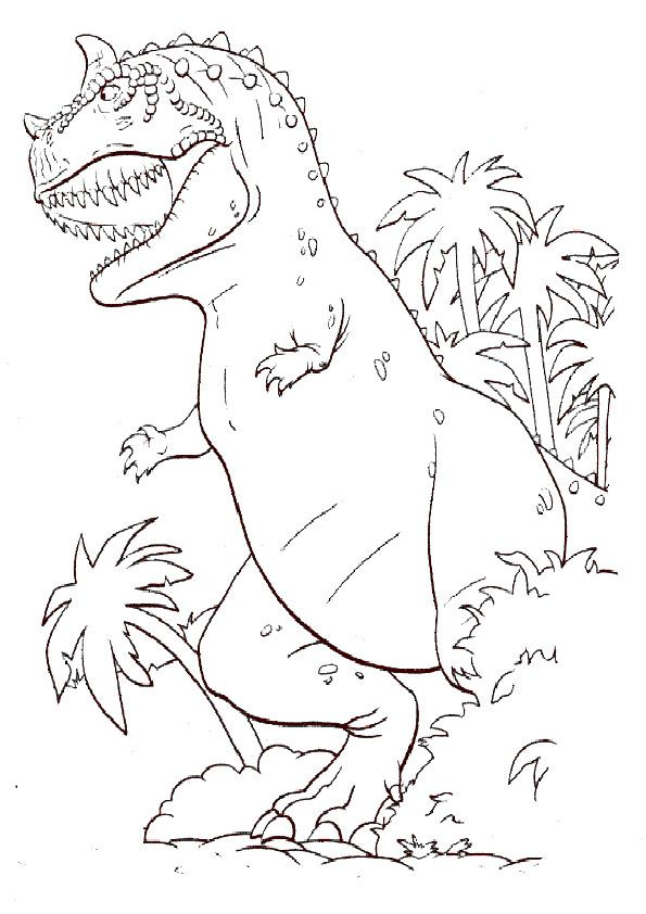 Ausmalbilder Dinosaurier | ausmalbilder | Pinterest | Ausmalbilder ...