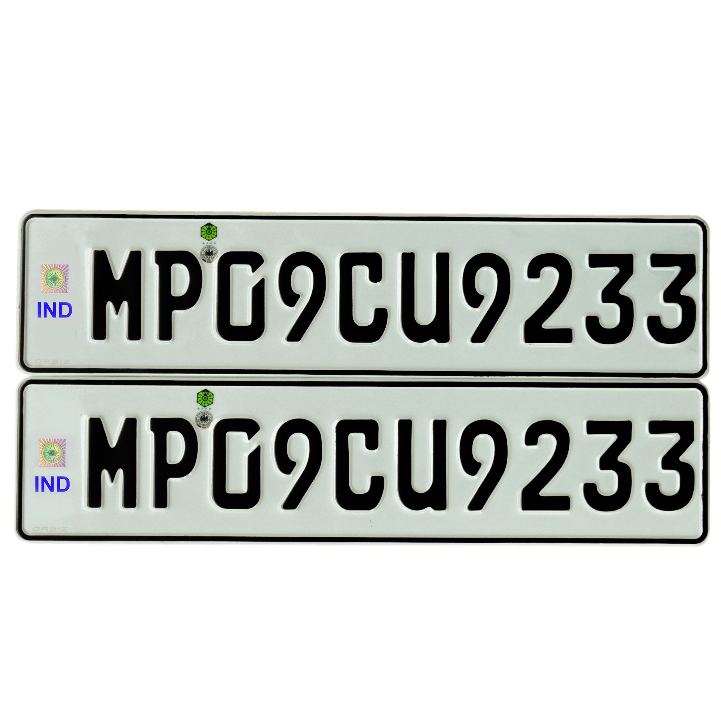 Pin by Orbiz Number plates on Car Number plates designs | Pinterest ...