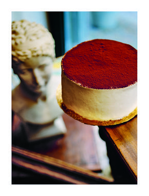The divine #Tiramisu cake from #TheItalianBaker by Melissa Forti | Shared by Eat Your Books!    @Quadrille  @quadrillefood