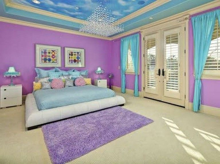 36 Sweet Mermaid Themes Bedroom Ideas For Your Children Bedroom Themes Mermaid Themed Bedroom Girls Blue Bedroom