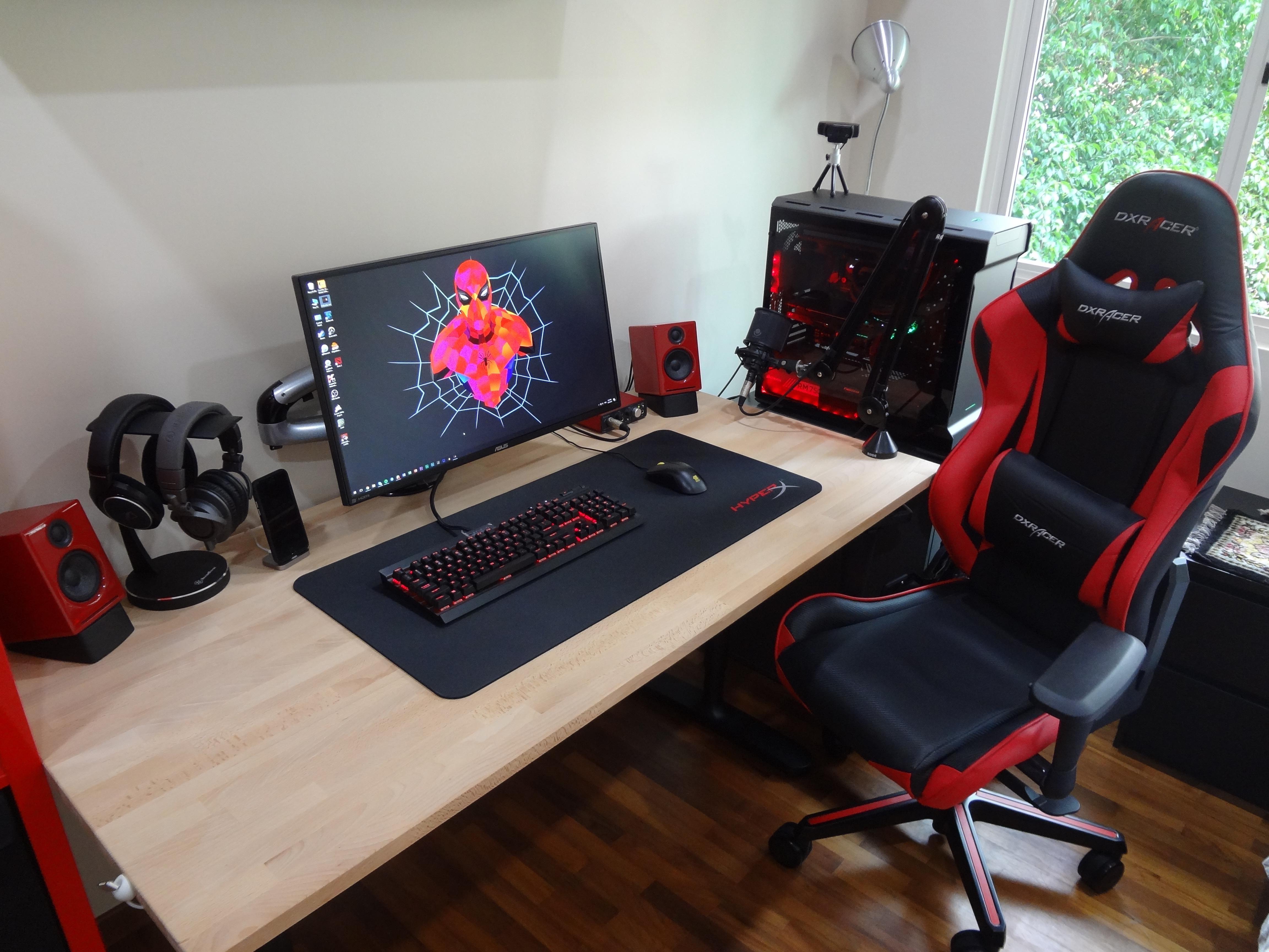 My setup (With images) Bedroom setup, Room setup, Game room