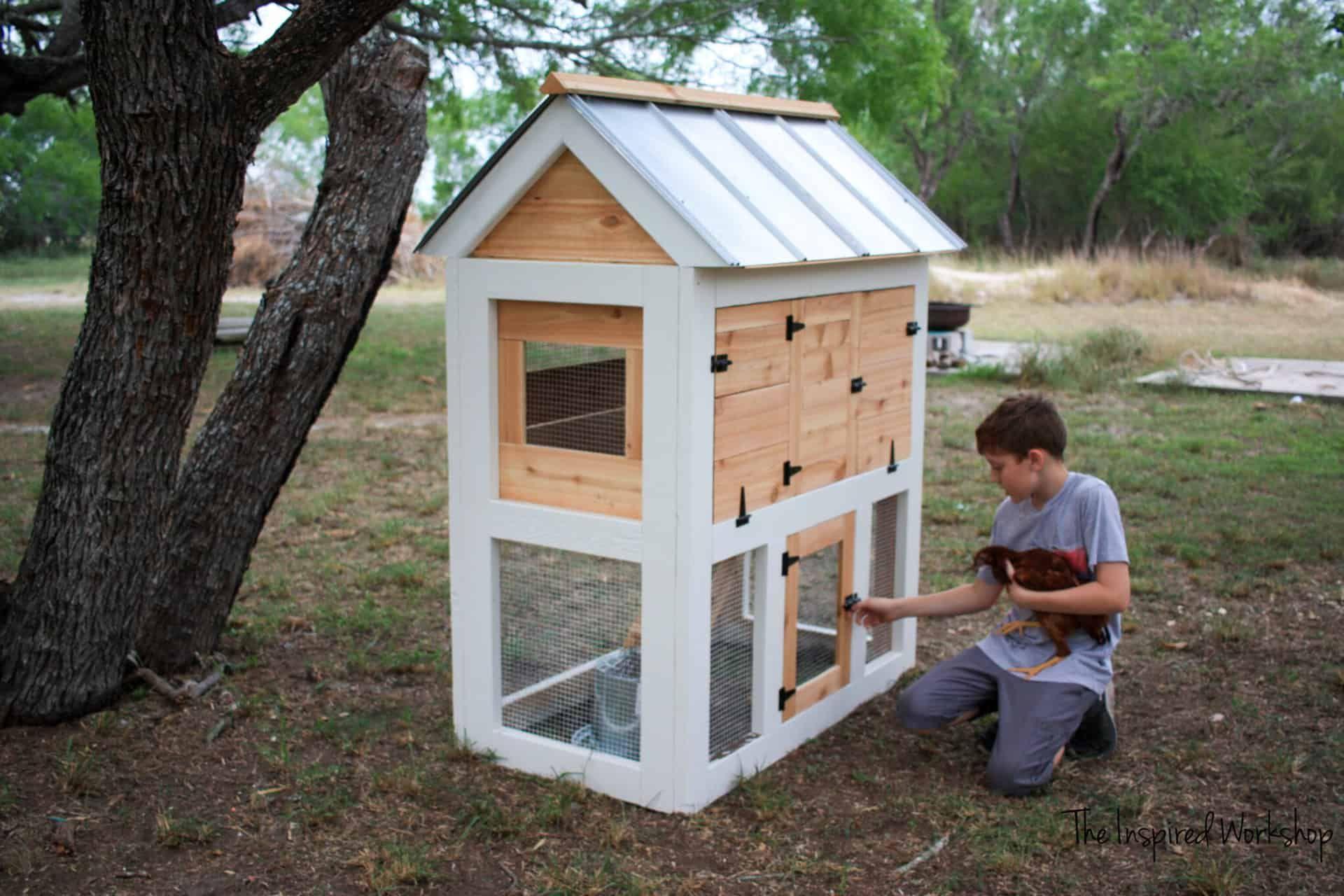 Easy Backyard Chicken Coop Plans Small Chicken Coops Chickens Backyard Backyard Chicken Coops