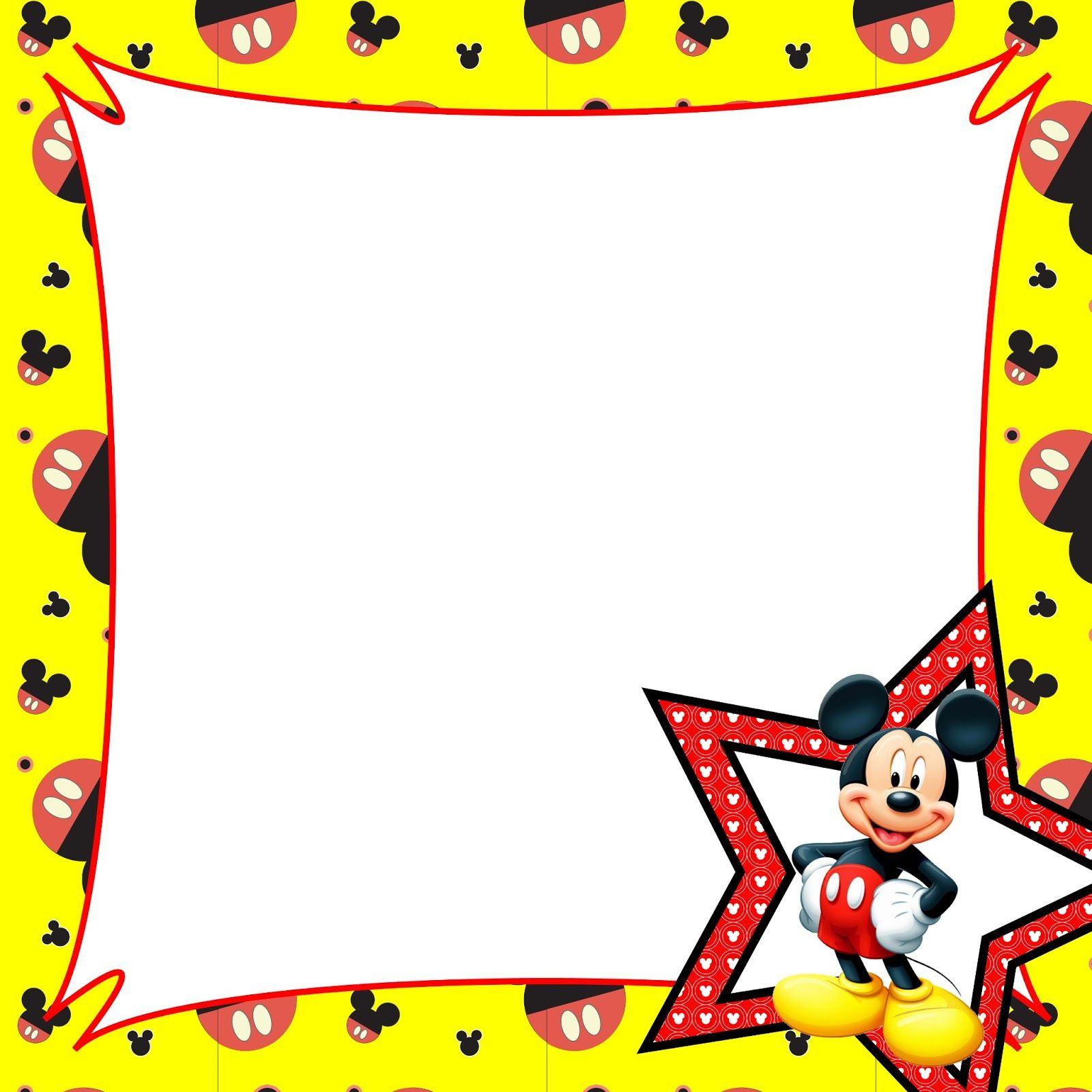 mickey mouse border clip art - photo #2
