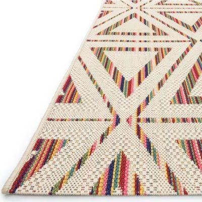 Ibiza Triangles Outdoor Rug