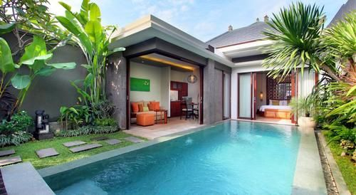 Best Villas In Seminyak Small Villa Bali House Beach Houses For Rent