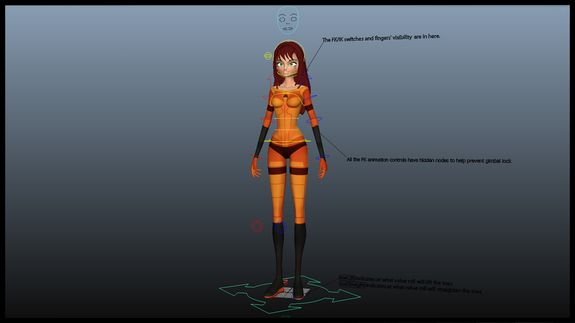 Sam (Slap On Rig) for Maya | Maya RIG | Character rigging, Free